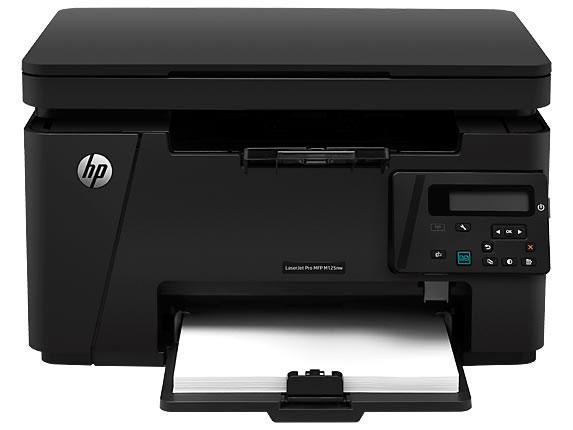 پرینتر سه کاره لیزری HP MFP M125nw